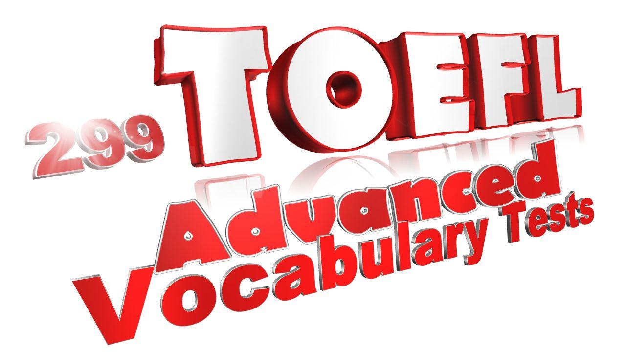 299 toefl vocab tests